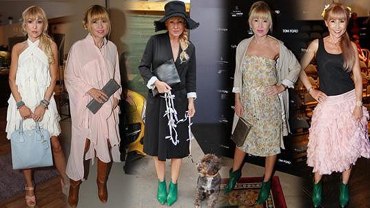 Katka má velmi specifický styl oblékání.