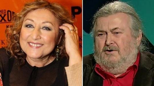 Halina Pawlowská a František Ringo Čech.