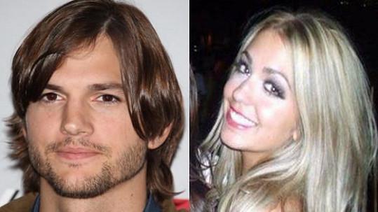Ashton Kutcher a Sara Leal.