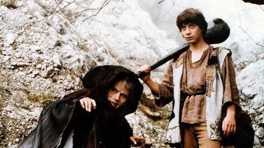 Martina Bezoušková a Pavel Kříž v pohádce O statečném kováři