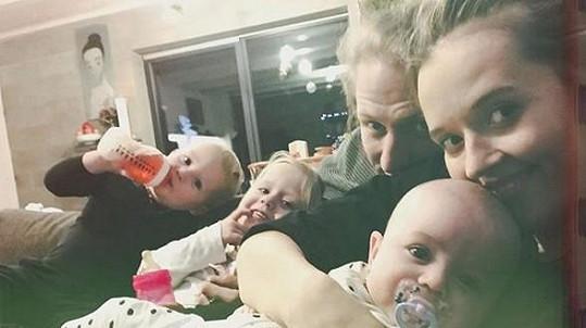 Tomáš a Tamara už mají tři děti.