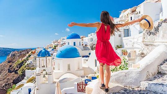 Dopřejte si dovolenou v Řecku.