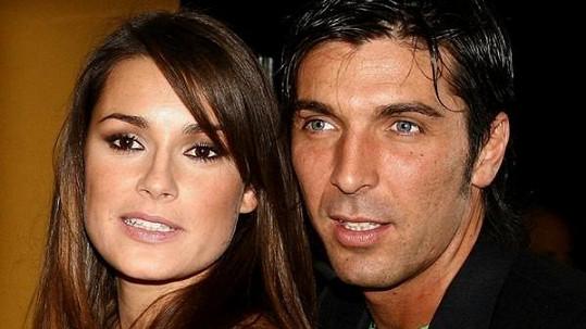 Alena Šeredová se svým budoucím manželem.