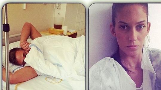 Vígnerová bdí u přítele v nemocnici. I ve strachu o jeho zdraví jí to sluší.