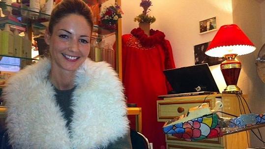 Tereza Barošová je opravdu hezká fotbalová ženuška.