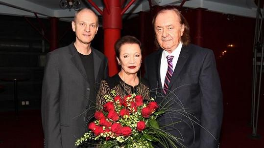 Hana Maciuchová vyrazila na Fantoma opery.