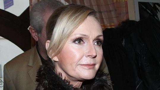 Helena Vondráčková se strachuje o manžela.