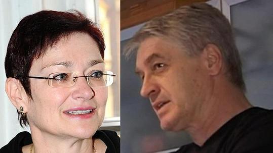 Darina Rychtářová a Josef Rychtář.