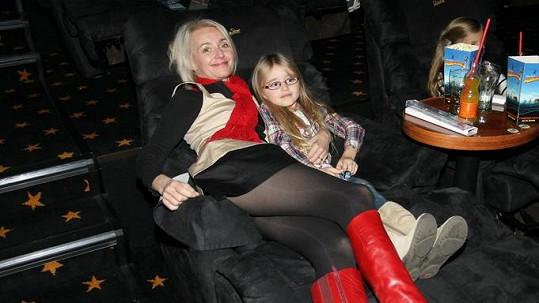 Veronika Žilková s dcerou Kordulkou.