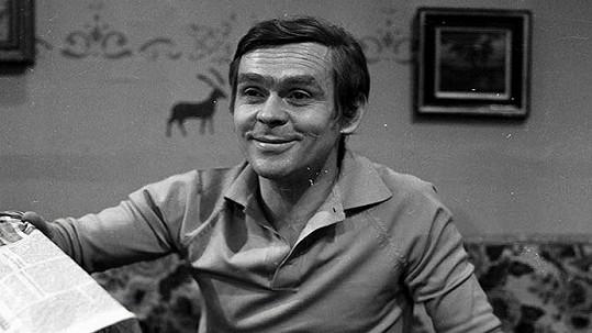 Eduard Cupák patři k oblíbeným českým hercům.