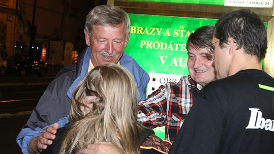 Ladislav Štaidl byl na Artura patřičně hrdý.
