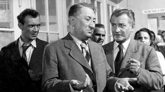 Josef Kemr, Jaroslav Marvan a Vladimír Řepa v Dovolené s Andělem