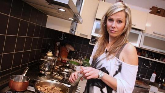 Pavla Vitázková jako jediná nevařila u sebe doma.