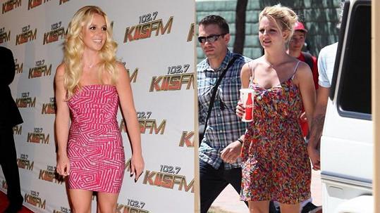 Britney stačila za pouhých pět týdnů viditelně zhubnout.