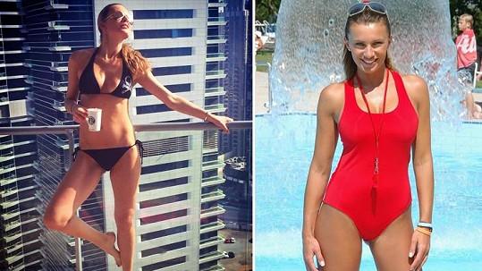 Krásky Krainová a Bendová vědí, jak se rychle zbavit tuku, když dieta ani cvičení nezabírají