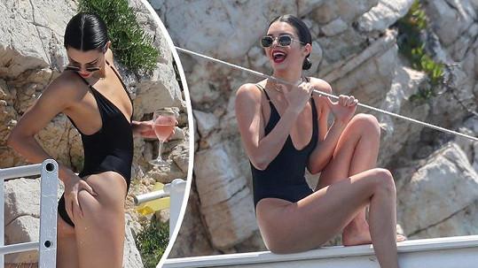 Kendall Jenner do Cannes nepřiletěla kvůli filmům.