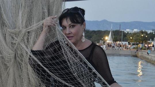 Dáda na dovolené v Chorvatsku.