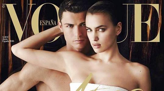 Irina Shayk nemůže Ronaldovi přijít na jméno...