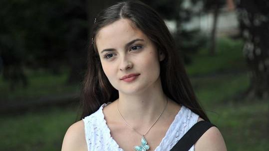 Eva Josefíková ve své nejnovější roli.