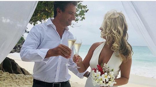 Jitka Hosprová se vdala.