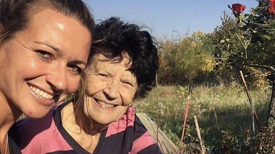 Babička Evy Čerešňákové podlehla rakovině