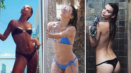 Tyto sexy celebrity také potřebují zchladit.