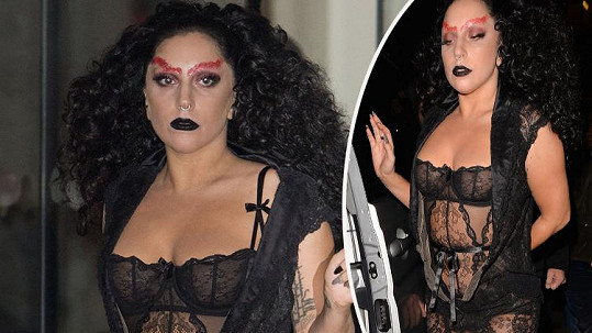 Lady Gaga vyděsila Londýn.