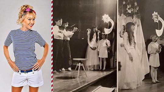 Kaira Hrachovcová vyrostla až na střední škole.