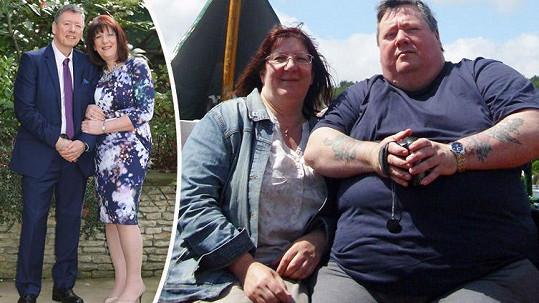 Chris a Lesley už mají tučné období za sebou.