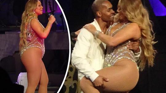 Mariah pořádně nakynula.