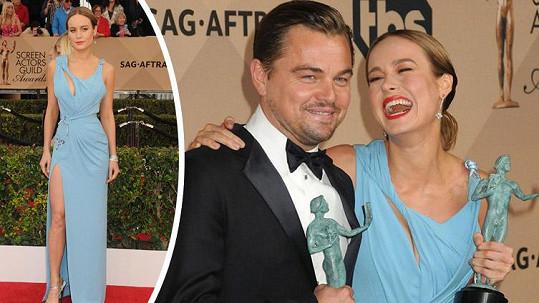 Brie Larson dostala další hereckou cenu.