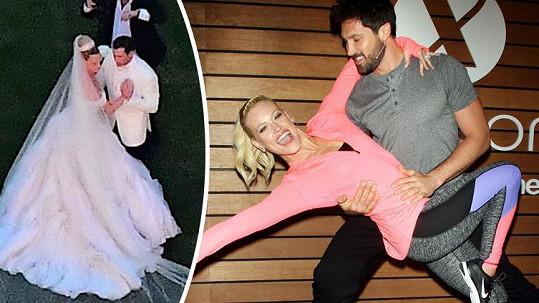 Hvězdy televizní taneční show vstoupily do manželství.
