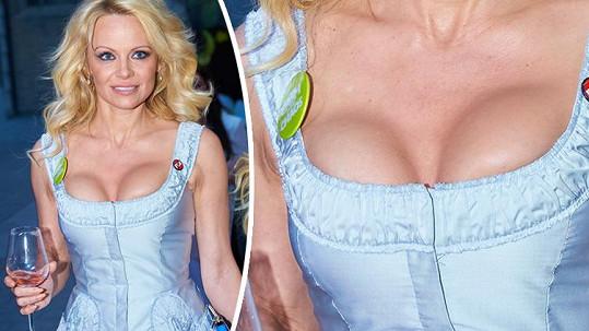 Pamela Anderson to tentokrát nevychytala...