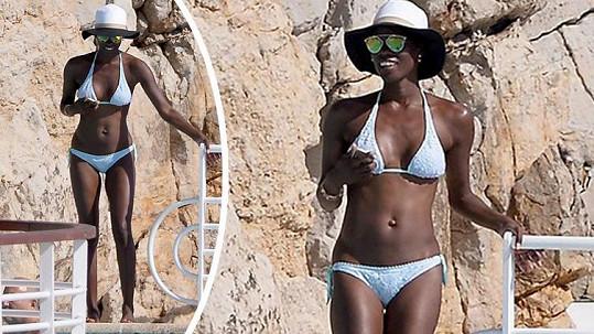 Lupita se v Cannes vystavuje slunci.