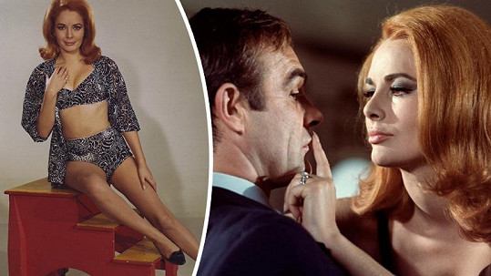 Karin Dor jako Helga Brandt v bondovce Žiješ jenom dvakrát.