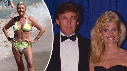 Ivana Trump je matkou tří dětí nového amerického prezidenta.