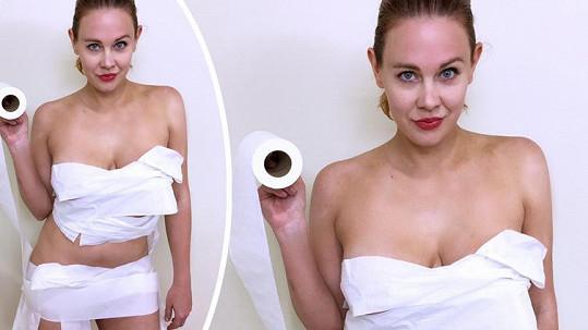Maitland stačí ke spokojenosti toaletní papír.