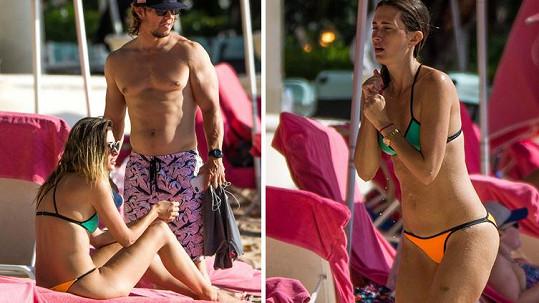 Mark Wahlberg má luxusní manželku.