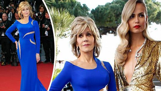 Jane Fonda zazářila na festivalu v Cannes.