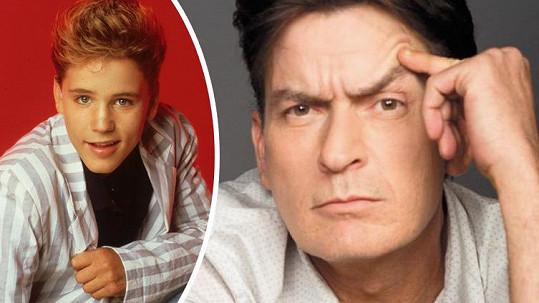 Charlie Sheen měl sexuálně zneužít tehdy 13letého Coreyho Haima.