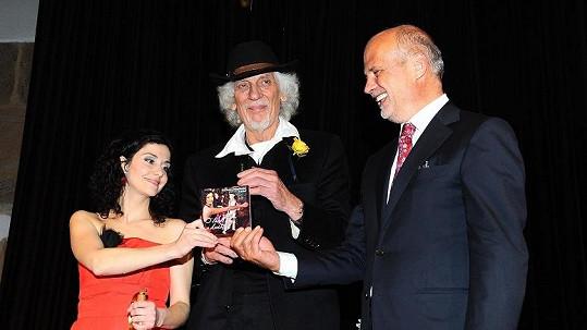 Petr Hapka, Michal Horáček a Lucie Šoralová