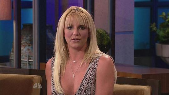 Britney Spears se rozhodla změnit účes.