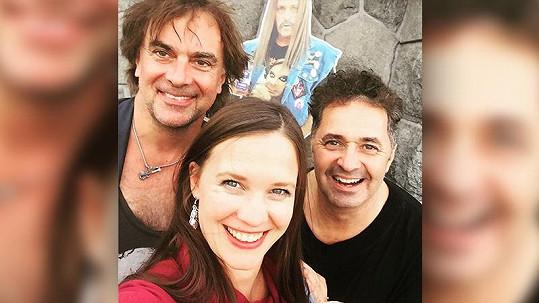 Tomáš Matonoha, Kristýna Leichtová a Martin Dejdar spolu před lety točili Comeback.