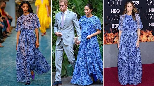 Komu to v modrých šatech slušelo nejvíce?