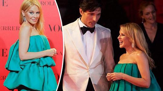 Kylie Minogue potkala svého ex.