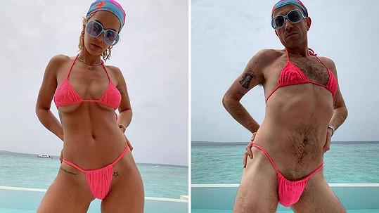 Rita Ora a její nepovedená kopie