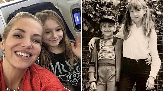 Dara Rolins zveřejnila vzácné snímky z dětství.