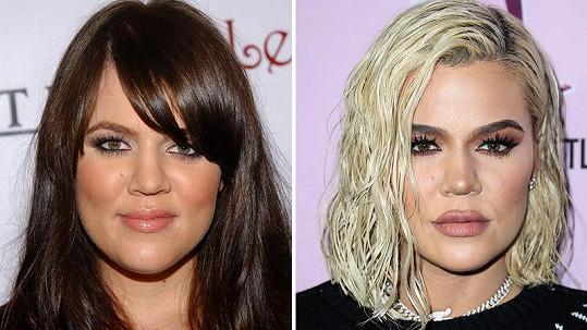 Proměna Khloé Kardashian
