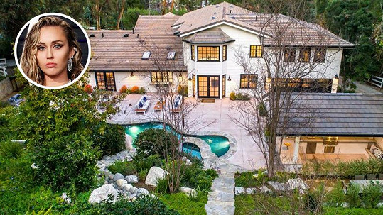 Miley Cyrus si podle magazínu Variety pořídila nové sídlo.