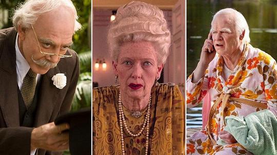 Tito herci v maskérně pořádně zestárli.